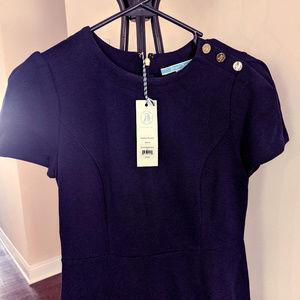 Draper James Sailor Button Dress (XS)